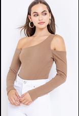 Tops 66 Own It One Shoulder Bodysuit