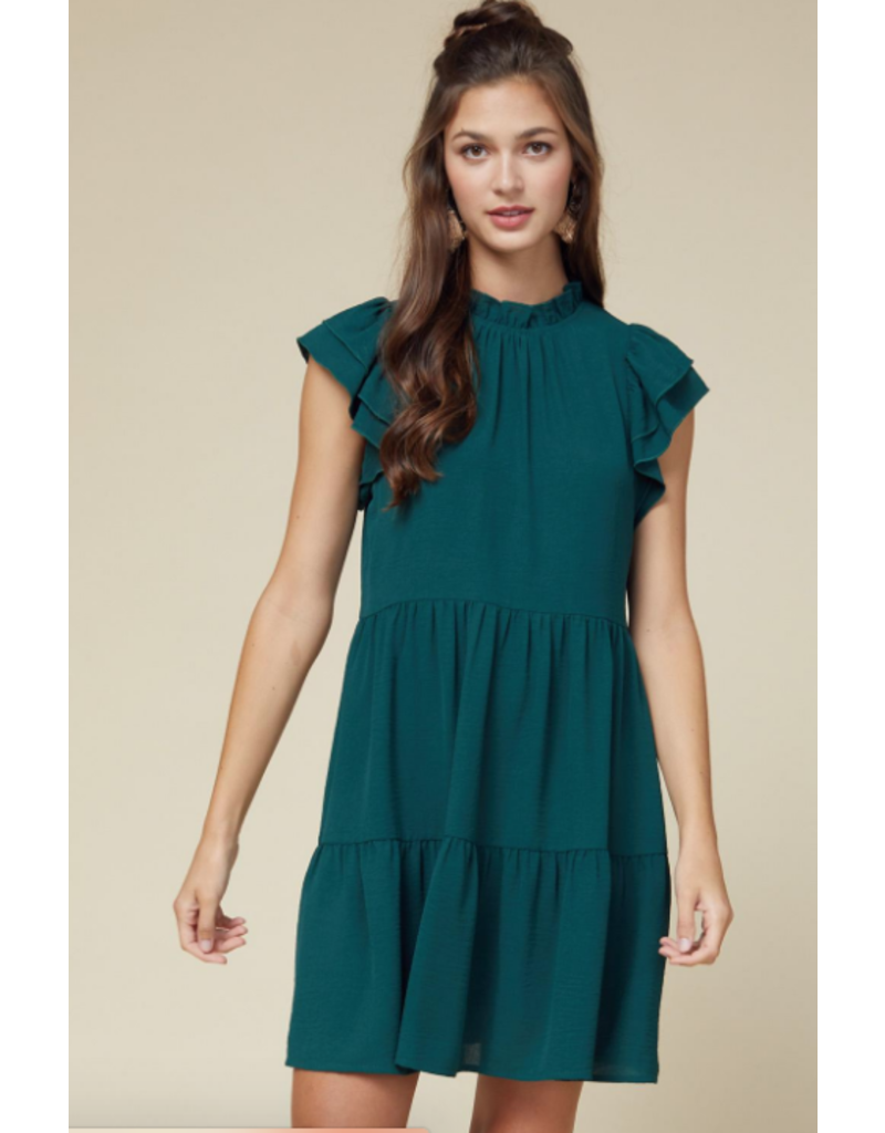 Dresses 22 Hunter Green Baby Doll Dress