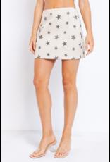 Skirts 62 Star Power Ivory/Grey Skirt