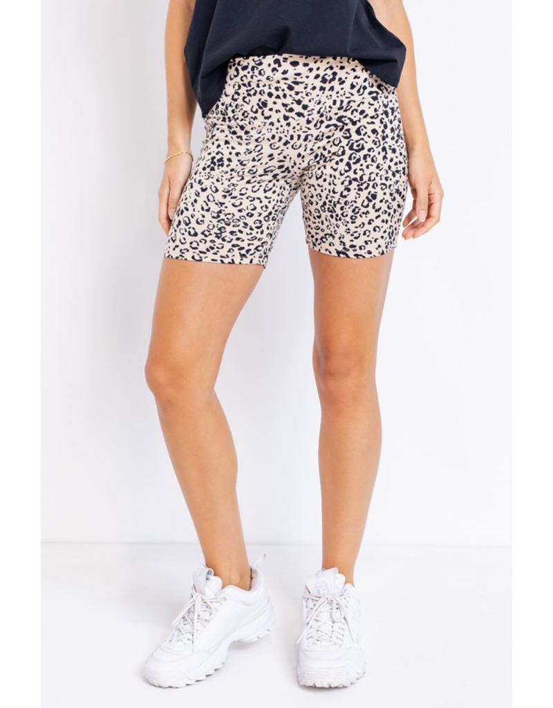 Shorts 58 Cheetah Biker Shorts