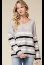 Tops 66 Stripe It Sweater