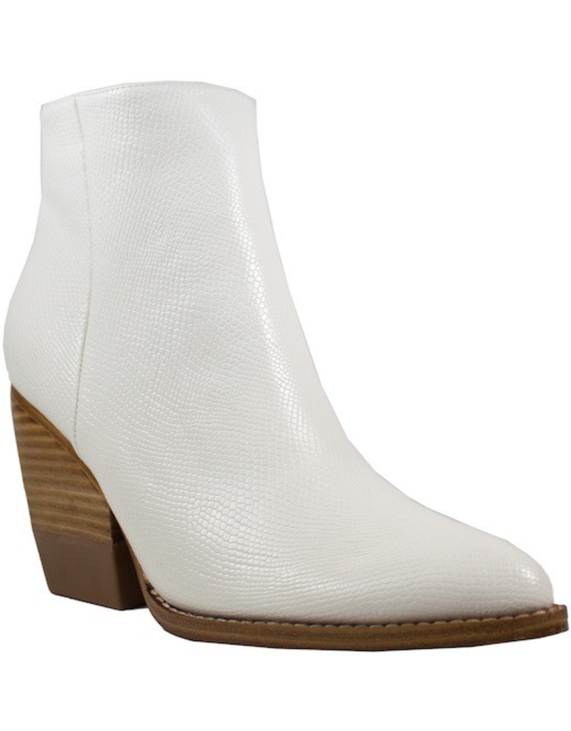 Shoes 54 Best Move White Textured Boot