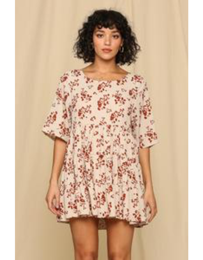 Dresses 22 Fall With Me Baby Doll Dress