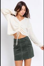 Tops 66 Cinch Me Sweater