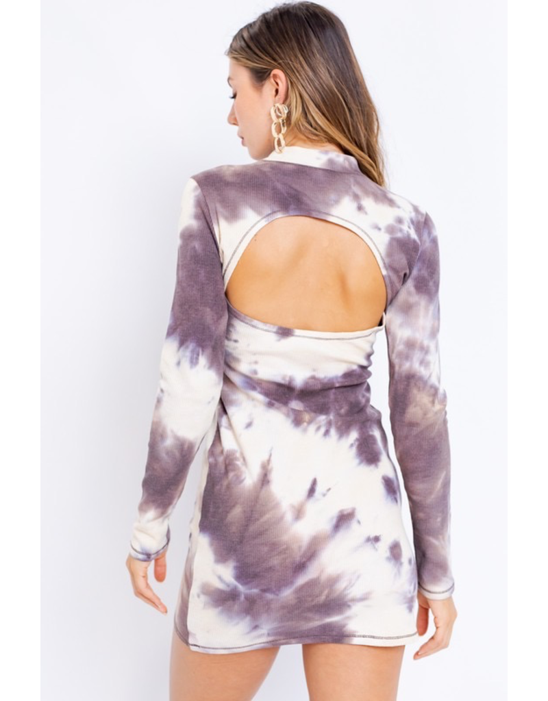 Dresses 22 Fall For It Tie Dye Open Back Sweater Dress