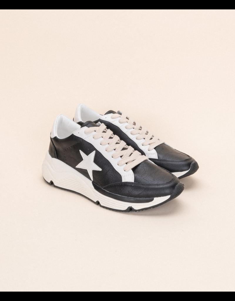 Shoes 54 Black Star Platform Sneaker