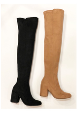 Shoes 54 Over The Knee Black Boots