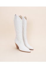 Shoes 54 White Western Boot