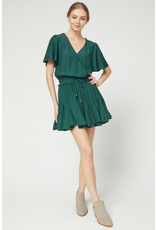 Dresses 22 Fall Chill Teal Green Romper