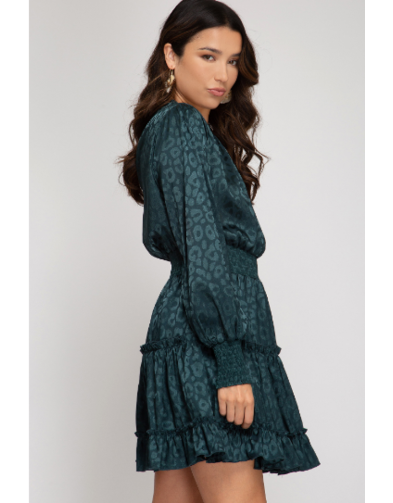 Dresses 22 Fall In Love Teal Patten Dress