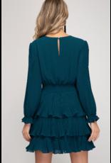 Dresses 22 Fall For It Teal Dress