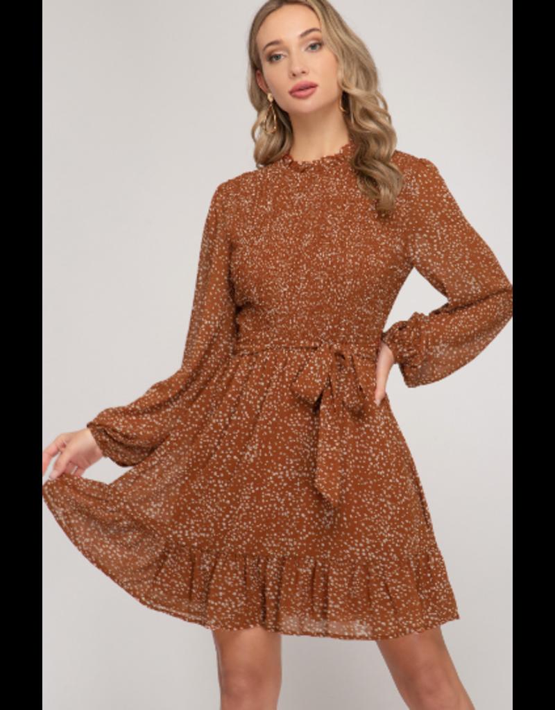 Dresses 22 Fall Endeavors Smock Leopard Dress