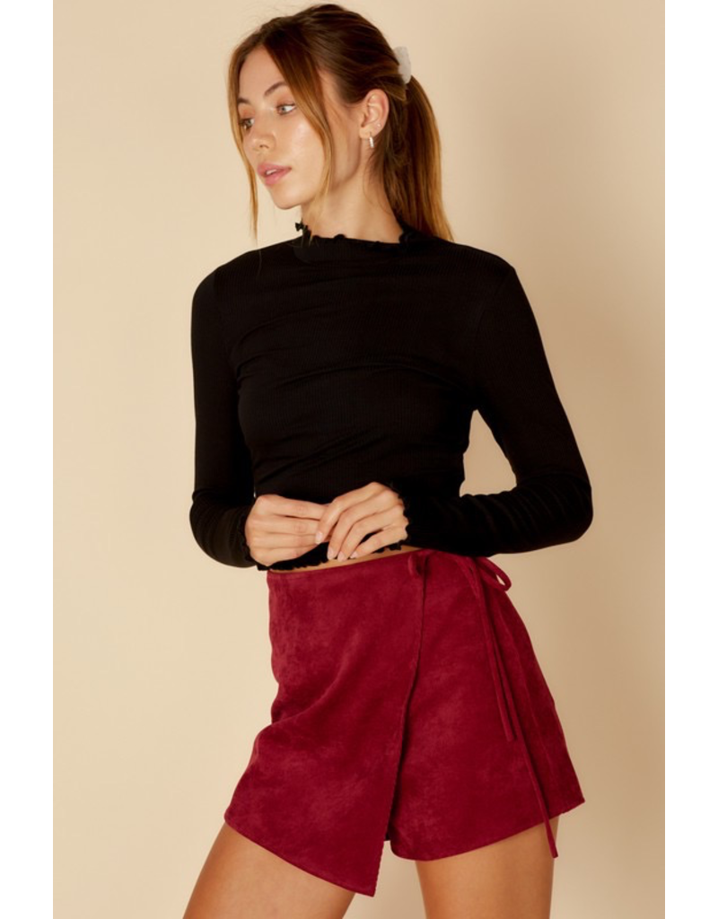 Skirts 62 Wrap It Up Corduroy Skort