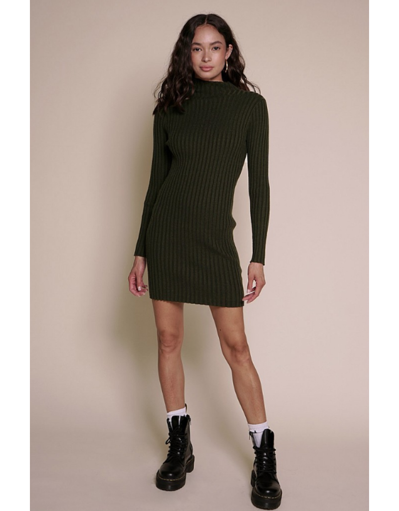 Dresses 22 Chilly Weather Mock Neck Sweater Dress