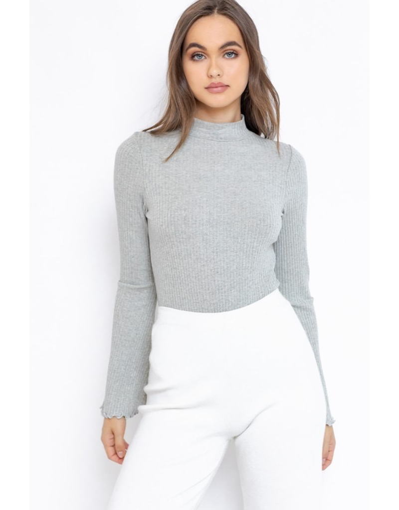 Tops 66 Mock Neck Bodysuit