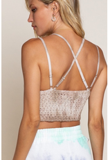 Tops 66 Cream Swirl Lace Bralette
