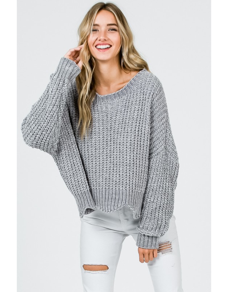 Tops 66 Chenille For All Sweater