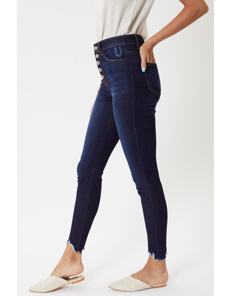 Pants 46 KanCan High Rise Dark Denim Skinny