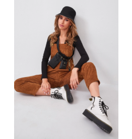 Jumpsuit Fall Essence Corduroy Overalls