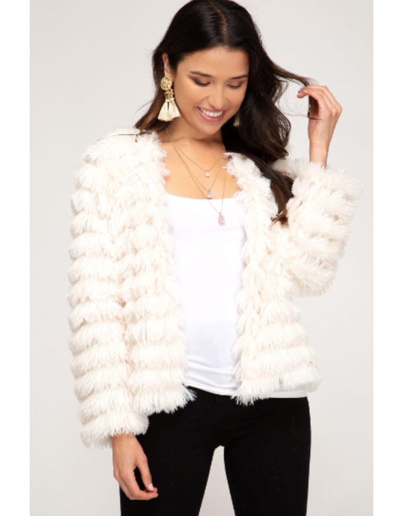 Outerwear Fuzzy Wuzzy Coat