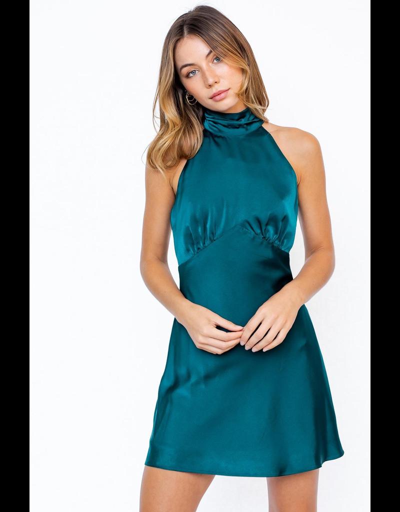 Dresses 22 Teal Satin Party Dress