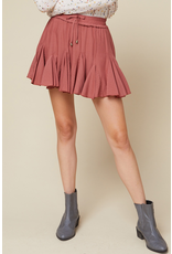 Skirts 62 Ruffle Around Terra Cotta Skort