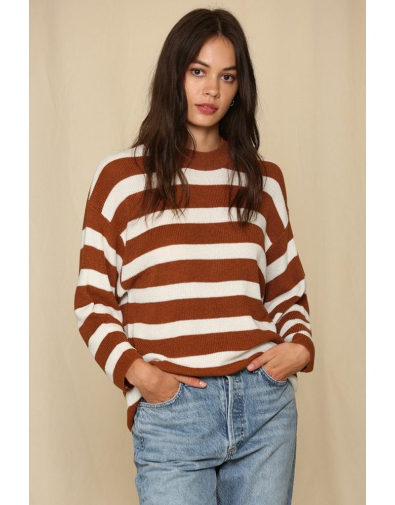Tops 66 Stripes For the Win Sweater