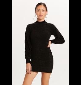 Dresses 22 Fuzzy Black Sweater Dress