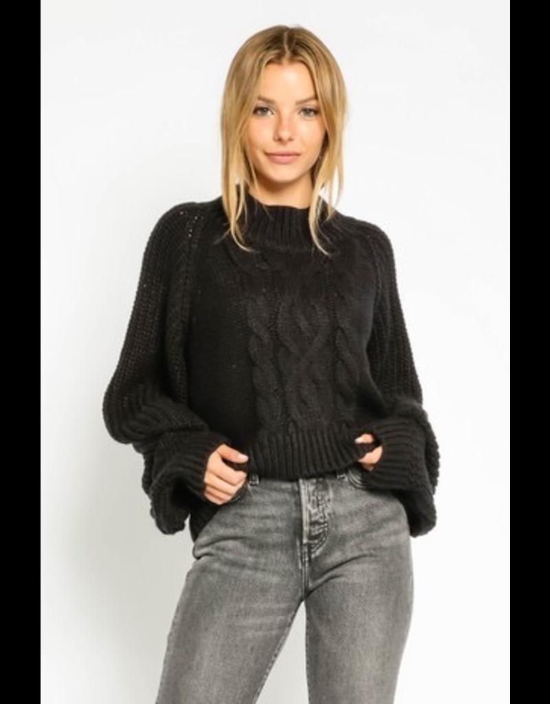 Tops 66 Winter's Best Mock Neck Sweater