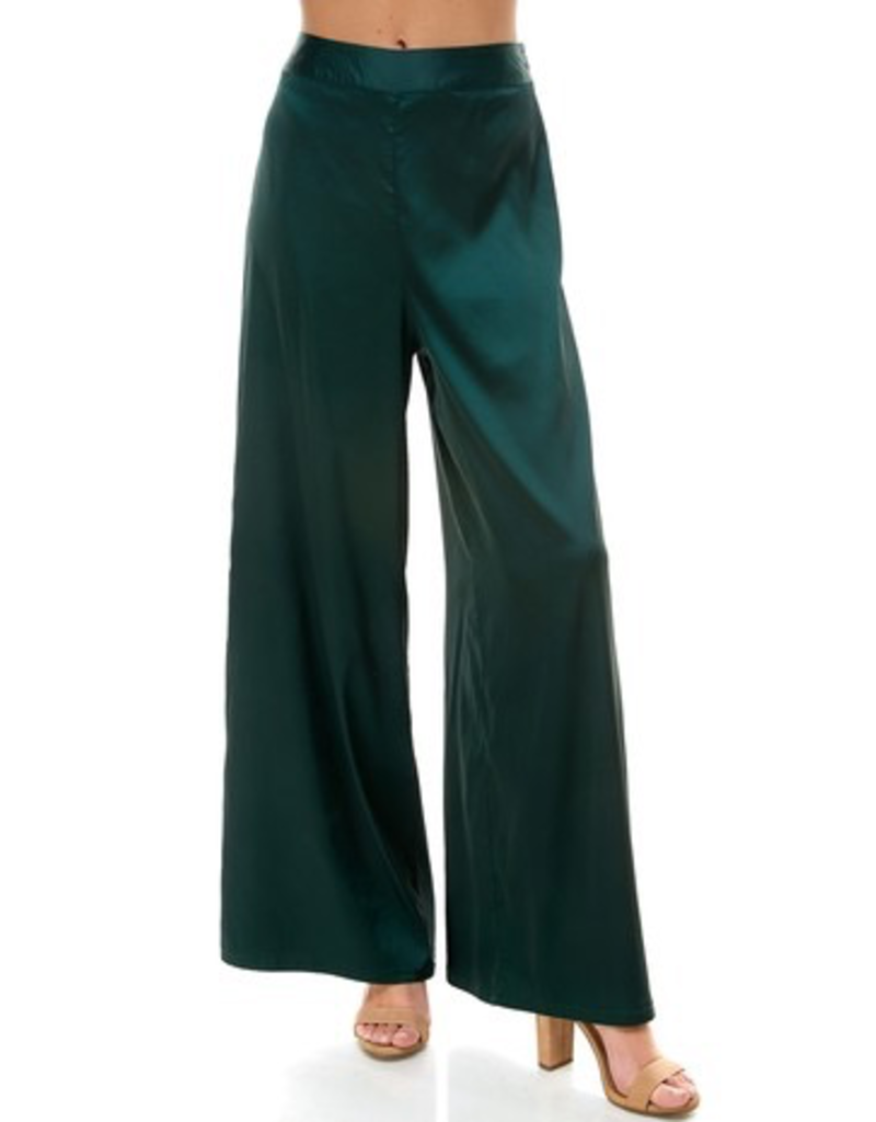 Pants 46 Festive Satin Party Flares