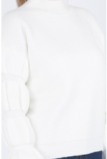 Tops 66 Winter Wonder Puff Sleeve Sweater