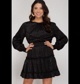 Dresses 22 Black Leopard Party Dress