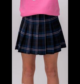 Skirts 62 Christmas Plaid Blue Skirt
