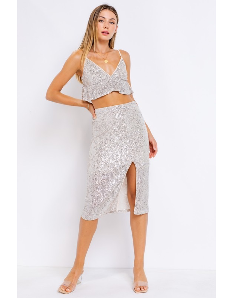 Tops 66 Sequin Party Top