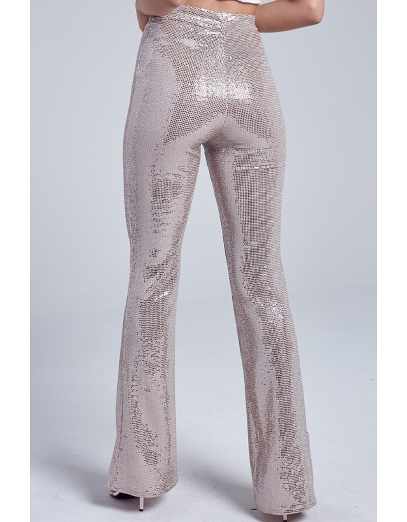 Pants 46 Silver Party Pants