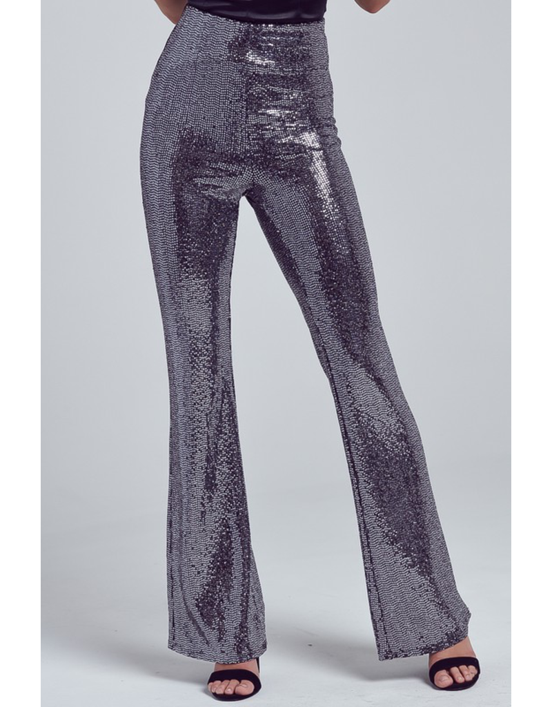 Pants 46 Black Party Sequin Pants