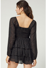 Rompers 48 Take Me To The Stars Black Party Romper