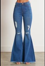 Pants 46 Medium Wash Denim Flares