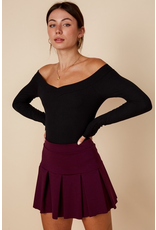 Skirts 62 Pleated Plum Tennis Skirt