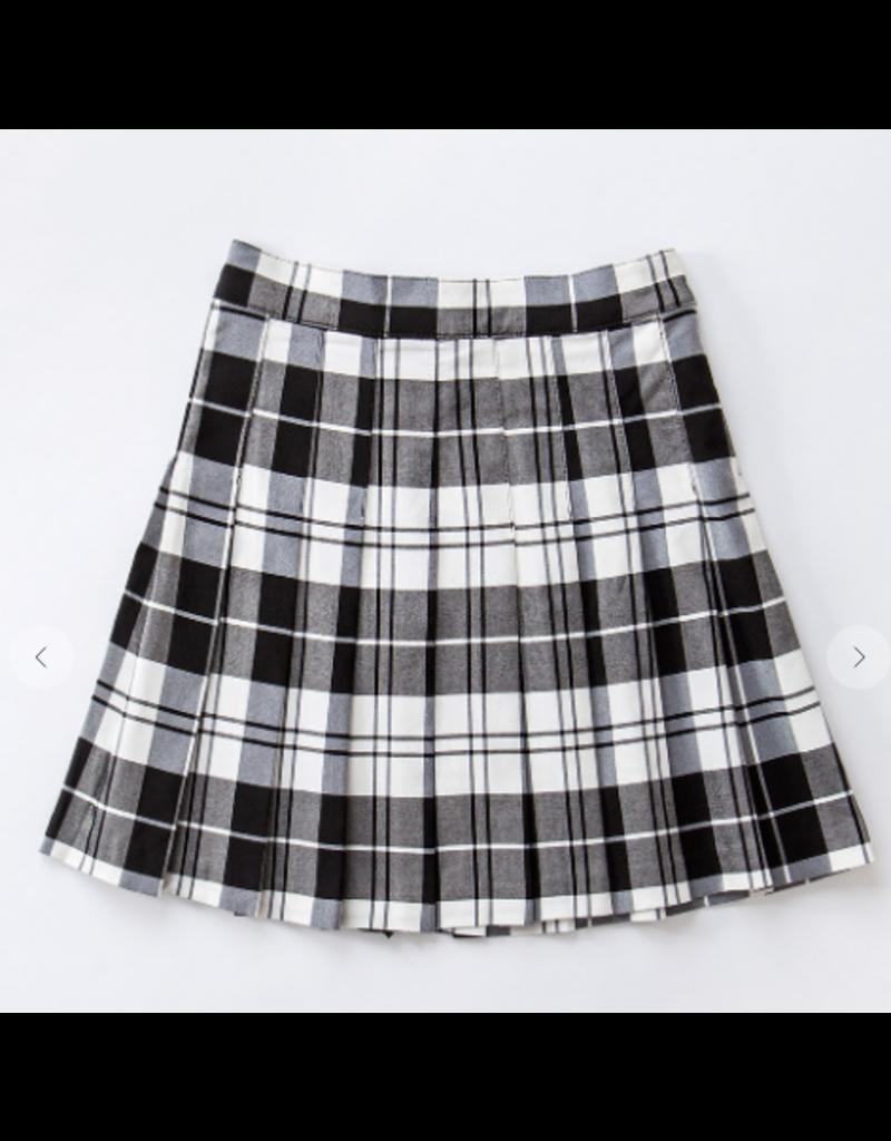 Skirts 62 Christmas Black/White Plaid Skirt