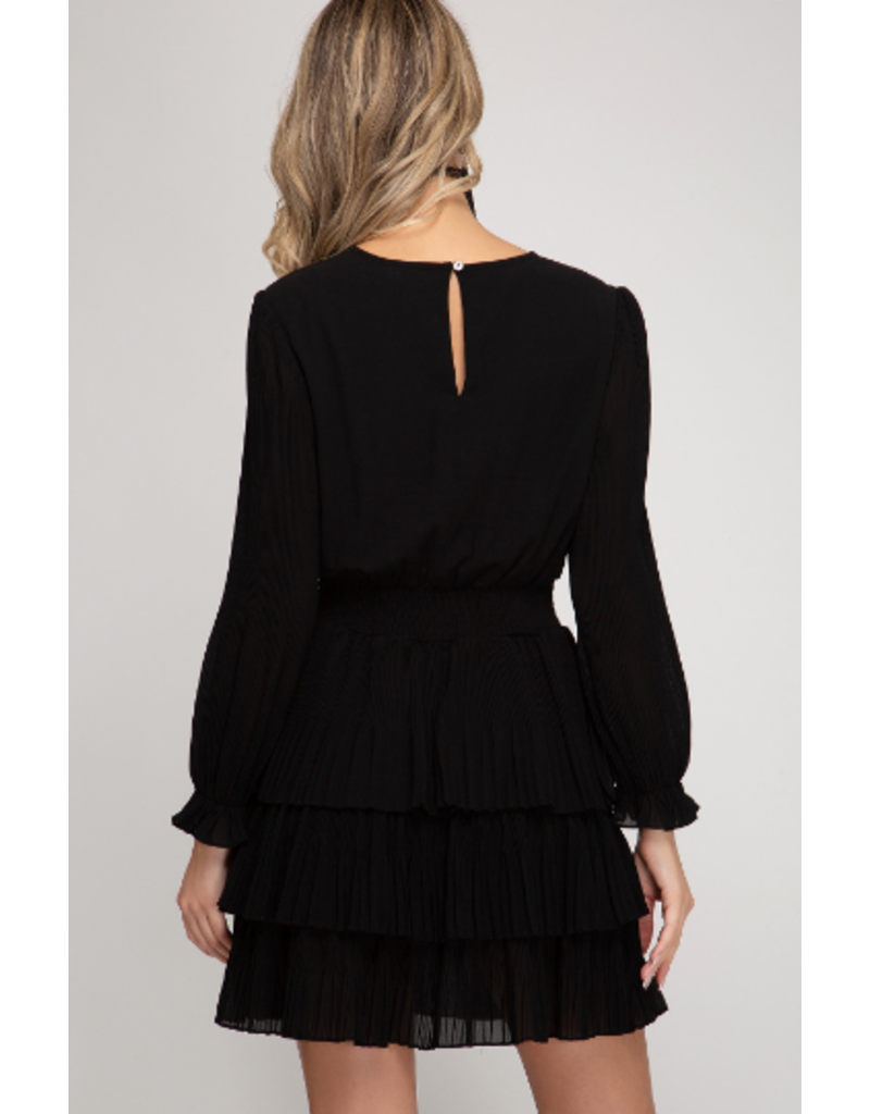Dresses 22 Ruffle Party LBD