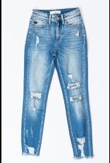Pants 46 KanCan High RIse Distressed Skinny