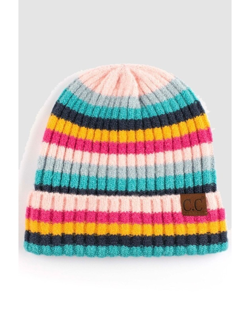 Accessories 10 Stripe Winter Hat