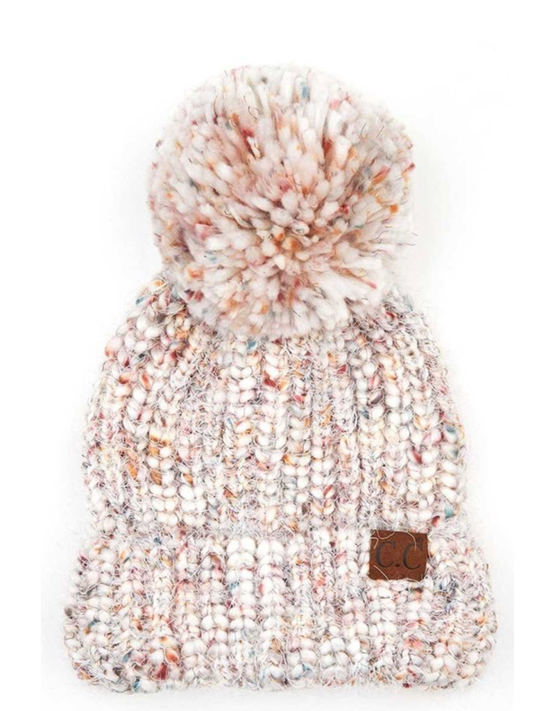 Accessories 10 Knitted Pastel Pom Pom Hat