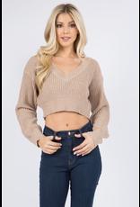 Tops 66 Crop It Sweater