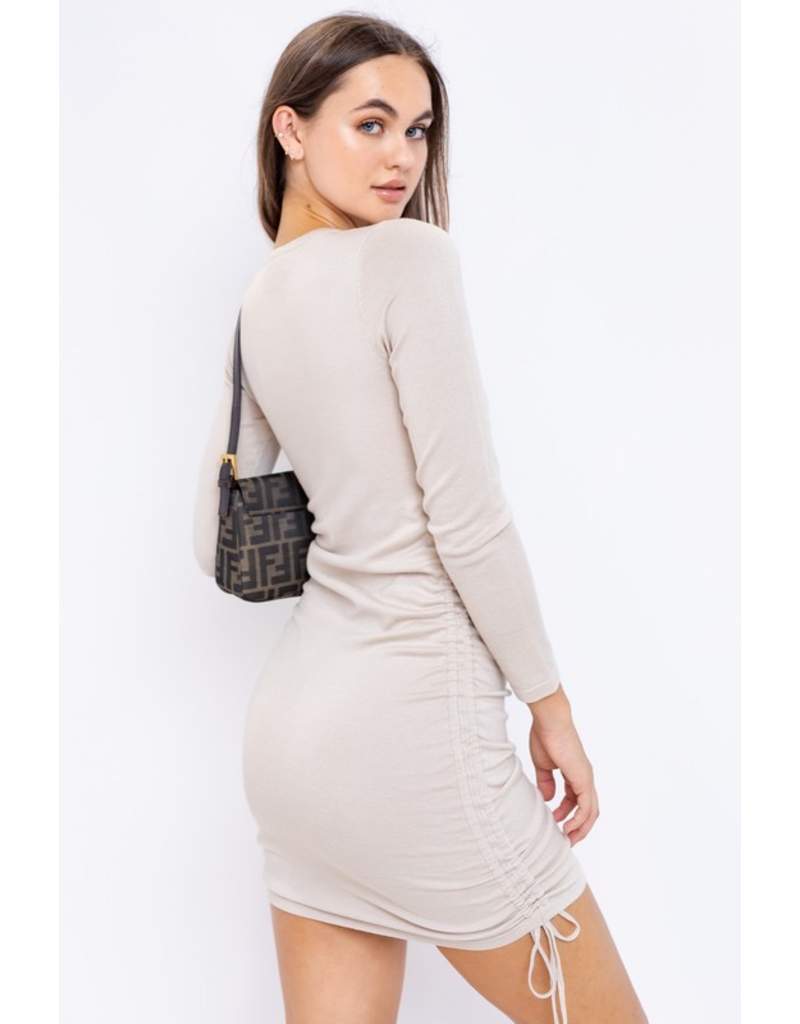 Dresses 22 Such A Cinch Taupe Dress