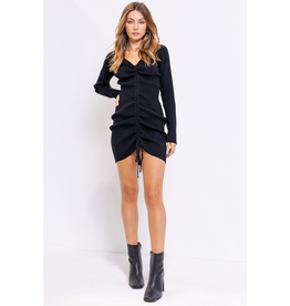 Dresses 22 Right Now Ruched LBD
