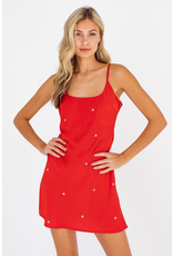 Dresses 22 Love Is In The Air Satin Heart Dress