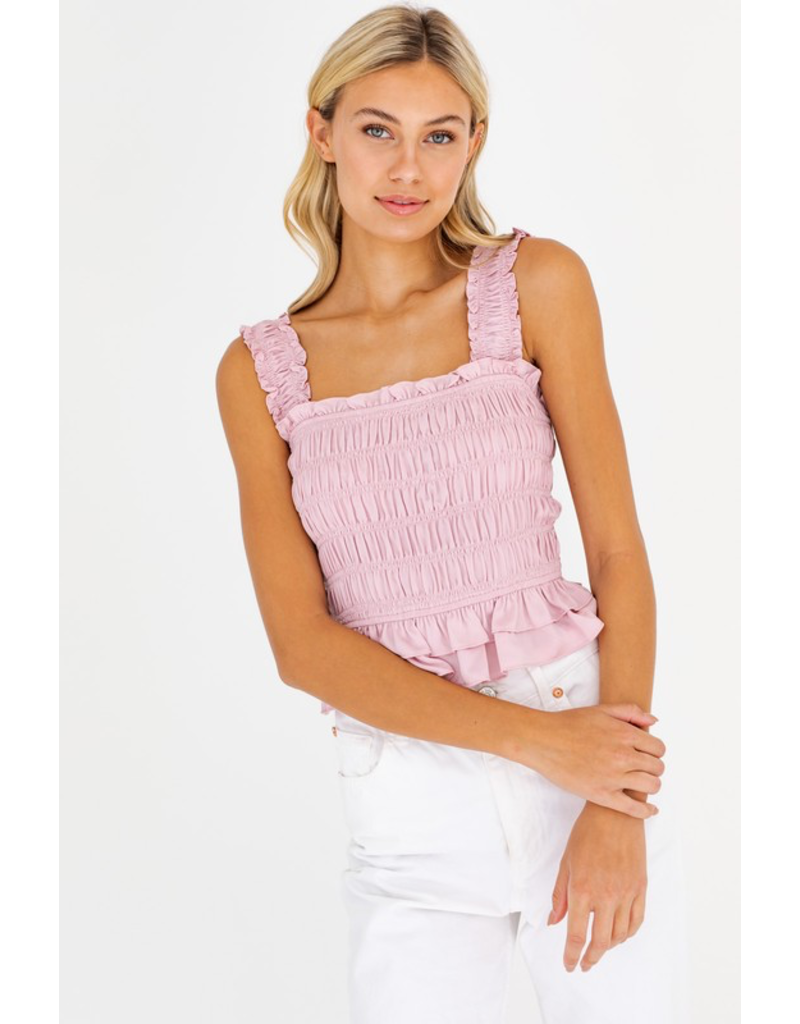 Tops 66 Ruffle Love Smock Top