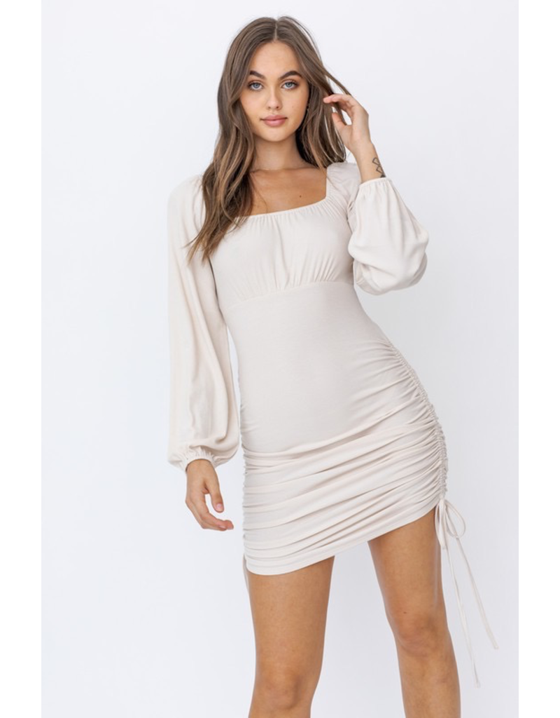 Dresses 22 Dreams Come True Ruched Detail Dress